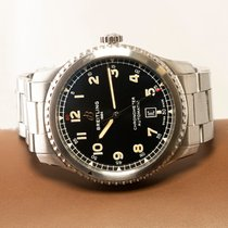 Breitling Aviator 8 Steel 41mm Black United States of America, New Jersey, Englewood