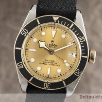 Tudor 79733N Or/Acier Black Bay S&G 41mm occasion