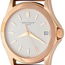 Patek Philippe Calatrava Rose gold 36mm Silver No numerals United States of America, Texas, Dallas