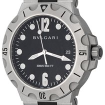 Bulgari Diagono Steel 41mm Black Arabic numerals United States of America, Texas, Dallas