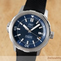 IWC Aquatimer Automatic Stahl 42mm Blau