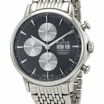 Edox Les Bémonts Steel 44mm Grey United States of America, New York, Monsey