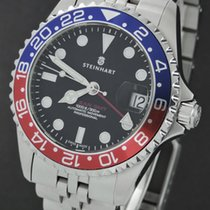 Steinhart Steel 39mm Automatic ocean one gmt pre-owned