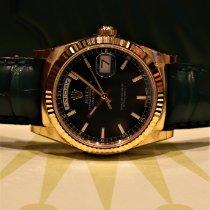 Rolex Day-Date 36 Gelbgold 36mm Grün Keine Ziffern Schweiz, Zürich