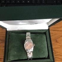 Rolex Oyster Perpetual 26 Steel 26mm Pink Arabic numerals United Kingdom, KENT