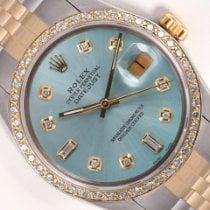 Rolex Datejust Acciaio 36mm Blu