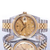 Rolex 16233 Acero y oro 1990 Datejust 36mm usados