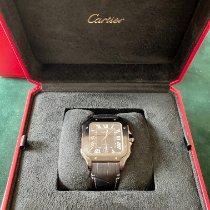 Cartier Santos (submodel) Acier 39.8mm Noir France, paris