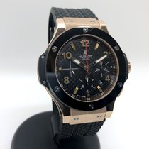 Hublot Big Bang 44 mm Oro rosa 44mm Negro Arábigos