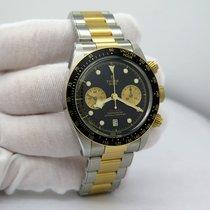Tudor Black Bay Chrono rabljen 41mm Crn Zlato/Zeljezo