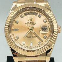 Rolex Day-Date II Yellow gold 41mm Gold Roman numerals United Kingdom, London