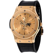 Hublot Classic Fusion Ultra-Thin Yellow gold 45mm Champagne No numerals United States of America, New York, Greenvale