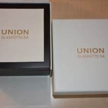 Union Glashütte Viro Chronograph Steel 43mm Blue Arabic numerals