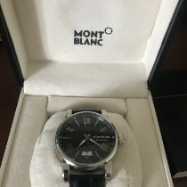 Montblanc 4810 pre-owned 42mm Black Date Crocodile skin