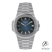 Patek Philippe Nautilus Steel 43mm Blue No numerals United States of America, New York, New York