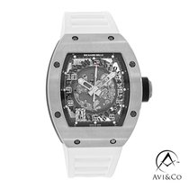 Richard Mille White gold Automatic Transparent Arabic numerals 39mm pre-owned RM 010