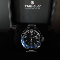 TAG Heuer Formula 1 Calibre 7 pre-owned Black Date GMT Steel