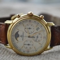 Jaeger-LeCoultre Odysseus Yellow gold 34mm White No numerals