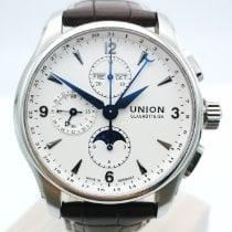 Union Glashütte Belisar Chronograph pre-owned Silver