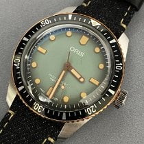 Oris Divers Sixty Five new 2020 Automatic Watch with original box and original papers 01 733 7707 4337-Set