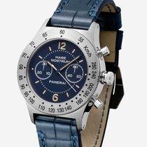 Panerai Mare Nostrum Stahl 42mm Blau Arabisch