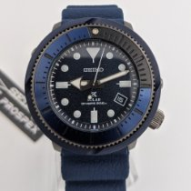 Seiko Prospex Acier 46.2mm Bleu Sans chiffres