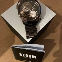Strom Steel 52.5mm Quartz 47135/BR pre-owned