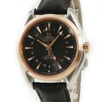 Omega Or rouge Remontage automatique Brun occasion Seamaster Aqua Terra