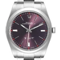Rolex Oyster Perpetual 39 Steel 39mm Red United States of America, Georgia, Atlanta