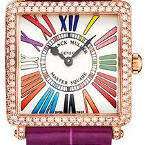 Franck Muller Master Square Rose gold 30mm Silver United States of America, New York, Brooklyn