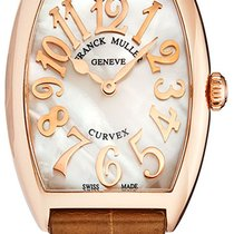 Franck Muller 7502QZRLFMOP5N Pозовое золото Casablanca 29mm новые