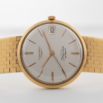 Longines Yellow gold 35mm Automatic 3418 pre-owned