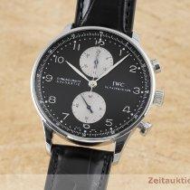IWC Portuguese Chronograph Acier 41mm Noir