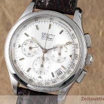 Zenith El Primero Chronograph Otel 38.5mm Argint