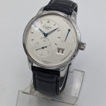 Glashütte Original PanoReserve Acier 40mm Argent France, Paris