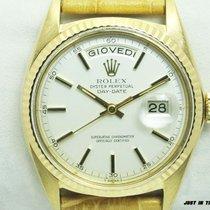 Rolex Day-Date 36 Oro giallo 36mm Argento Senza numeri Italia, Pieve Di Cento BOLOGNA