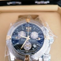 Breitling Emergency Or/Acier 45mm Noir Arabes
