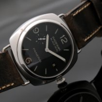 沛納海 Radiomir Black Seal 3 Days Automatic 鋼 45mm 黑色 阿拉伯數字