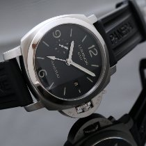 Panerai Luminor 1950 3 Days GMT Automatic Acero 44mm Negro Arábigos
