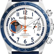 Bell & Ross BR V2 new Automatic Chronograph Watch with original box BR-V2-94-RACING-BIRD