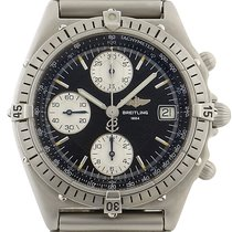 Breitling Chronomat 81950 + 81500A -- 05-1987 1987 pre-owned