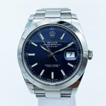 Rolex 116300 Steel 2019 Datejust II 41mm pre-owned