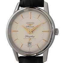 Longines Flagship Heritage Steel 38mm Champagne