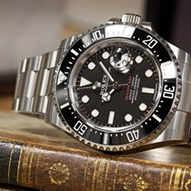 Rolex Sea-Dweller Steel 43mm Black No numerals UAE, Abudhabi