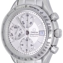 Omega Speedmaster Date Steel 38mm Silver No numerals United States of America, Texas, Dallas