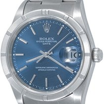 Rolex Oyster Perpetual Date Steel 34mm Blue No numerals United States of America, Texas, Dallas