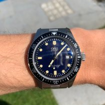 Oris Divers Sixty Five 01 733 7720 4055-07 8 21 18 2019 pre-owned