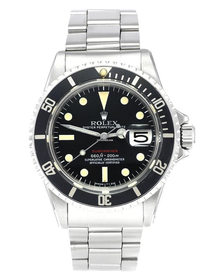 Rolex Submariner Date 1680 1972 usados