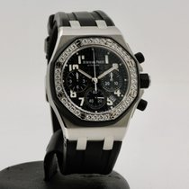 Audemars Piguet Royal Oak Offshore Lady Acier 37mm Noir Arabes