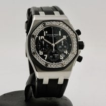 Audemars Piguet Royal Oak Offshore Lady Сталь 37mm Черный Aрабские